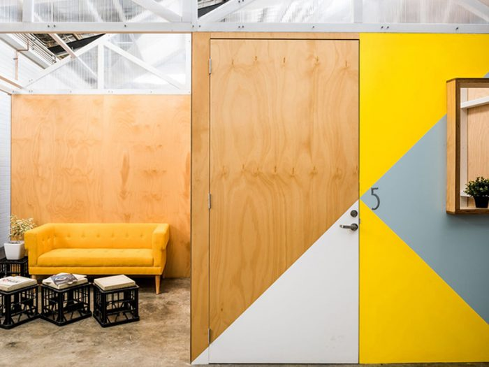 An image of a the marketing agency Gilligan Group's new office space